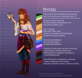 The Arcana OC - Nyckel [quick ref]
