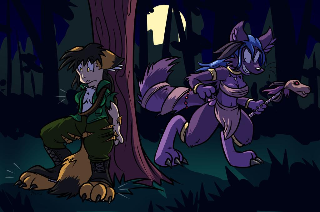 Purple Wolf Bite