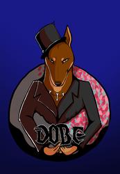 Digital Bust Badge: Dobe