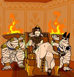 Kneel Before Pharaoh!