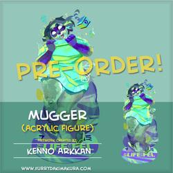 Mugger Acrylic Stand Figure