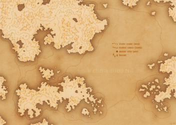 another fictional map - old style version