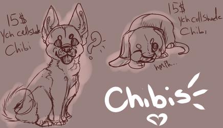 15$ Ych Chibi sketches (CellShaded)