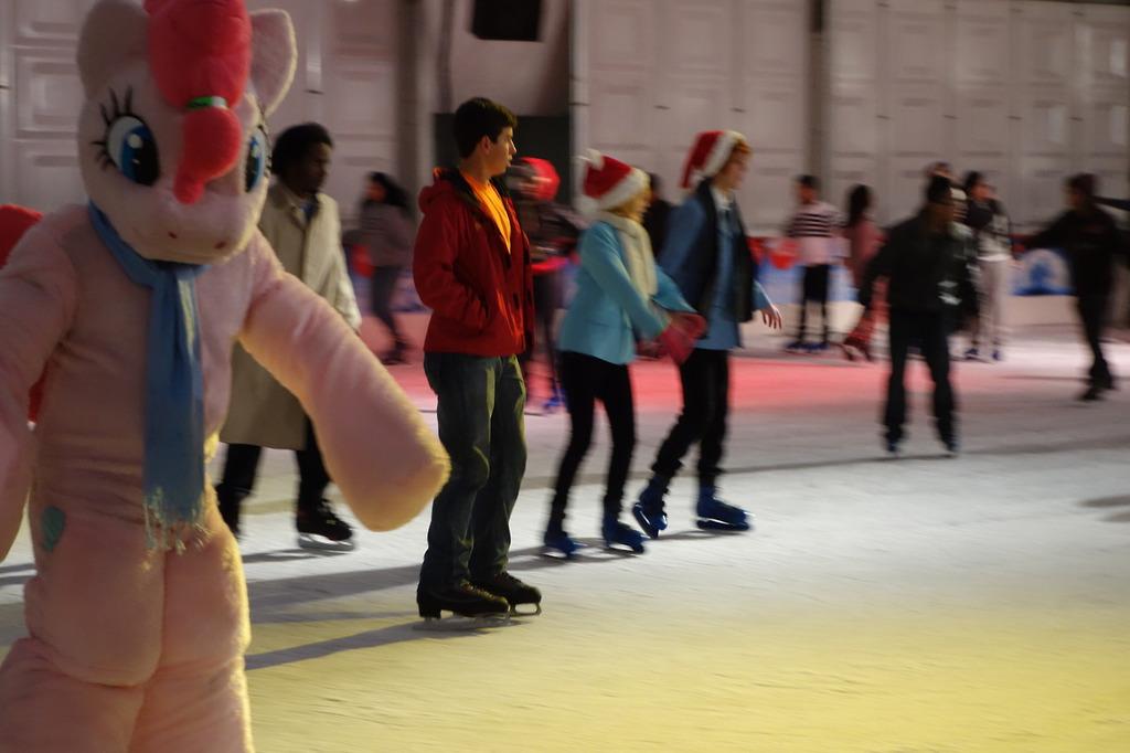 Pinkie on the Ice