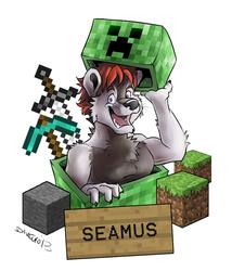 VancouFur 2013 Badge - Seamus
