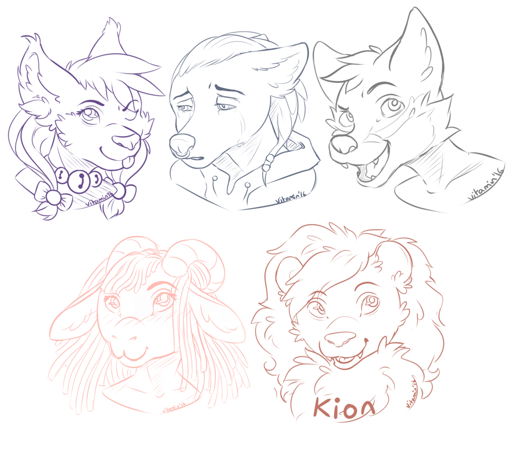 [FREEBIES] In Stream Headshots~
