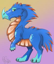 Blue Dino Raptor