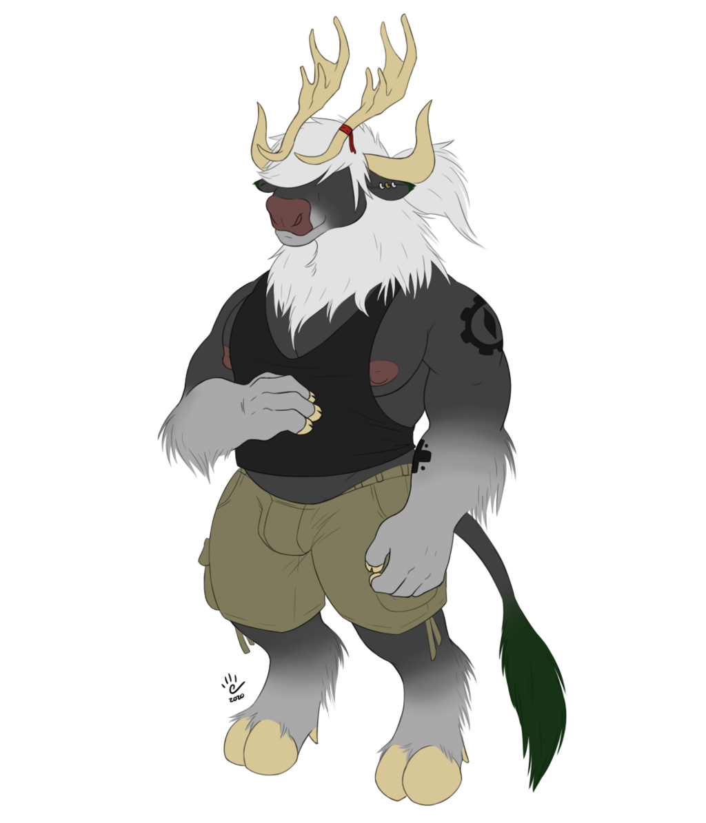 Most recent image: Bull-ified Erken