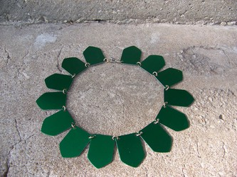 Shield Scale Necklace