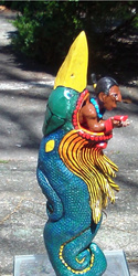 Vision Serpent sculpture