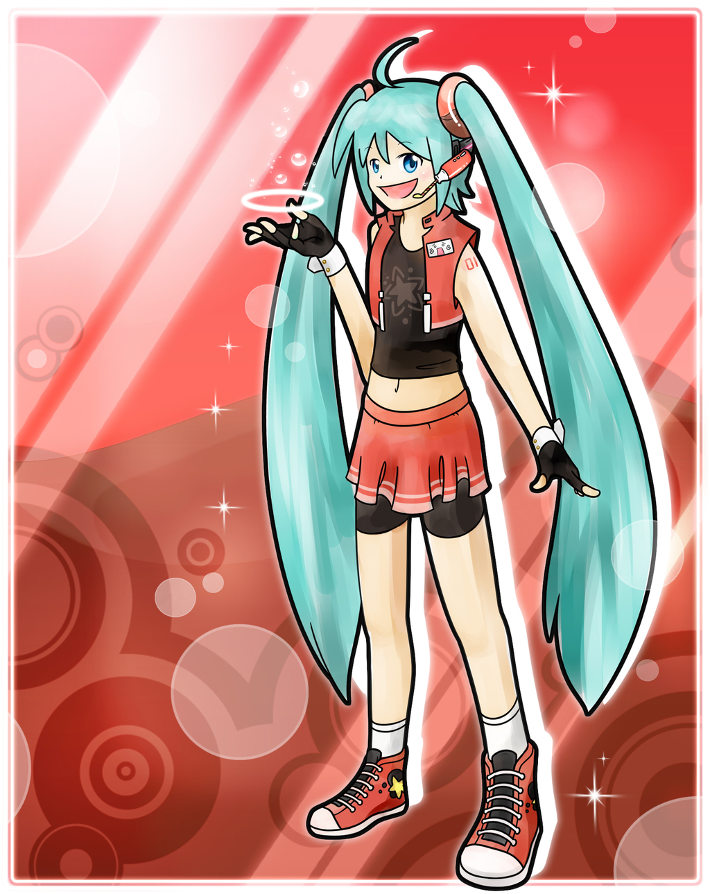 Contest:. Cola-Style Miku Poster