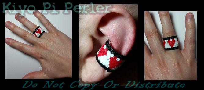 Life-bar Ear cuff or Ring (Original Pattern / Design)
