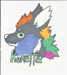 Kometta Badge