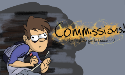 Commissions are open! Help me get to Denmark!!