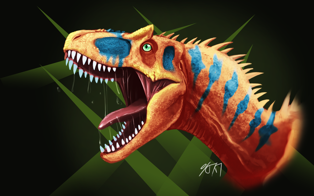 Most recent image: Allosaurus bust