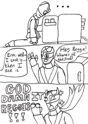 Greedy Team Mates (Short Comic)