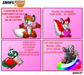 Simon and Freddy - 67 - Valentine's day