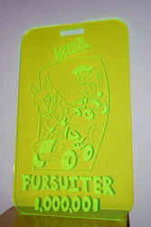 The 1,000,001st Fursuiter Badge!