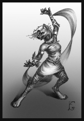 [C] sketch Zyonji dance