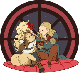 Commission: Emlen and Raelin