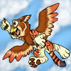 Tiger Gryphon, Away!