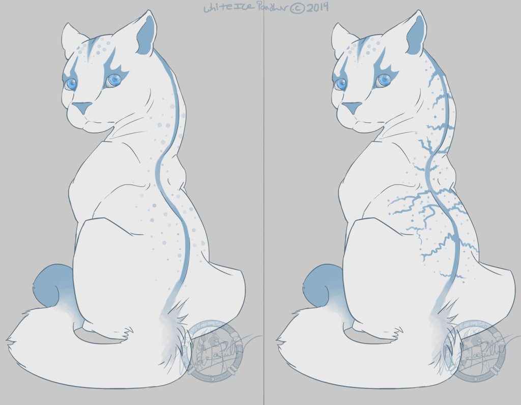 White Ice Panther Redesigns