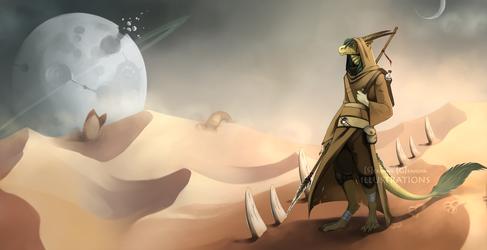 Dune themed wanderer