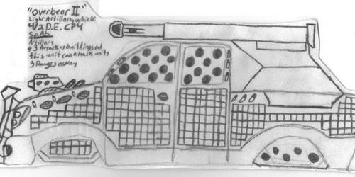 "DE Light Tank Destroyer ""Overbear II"""