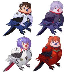 Birdon Birdesis Birdangelion