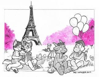 #Inktober2019 WorldTour Day 6: France