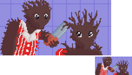Pixel Daily: Chainsaw