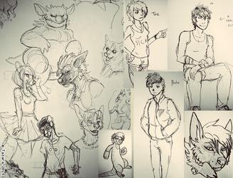 Sketch Dump 20-1-14
