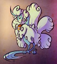 Mega Altaria likes Pokepuffs!