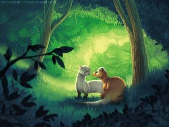 Commission: Ferrets