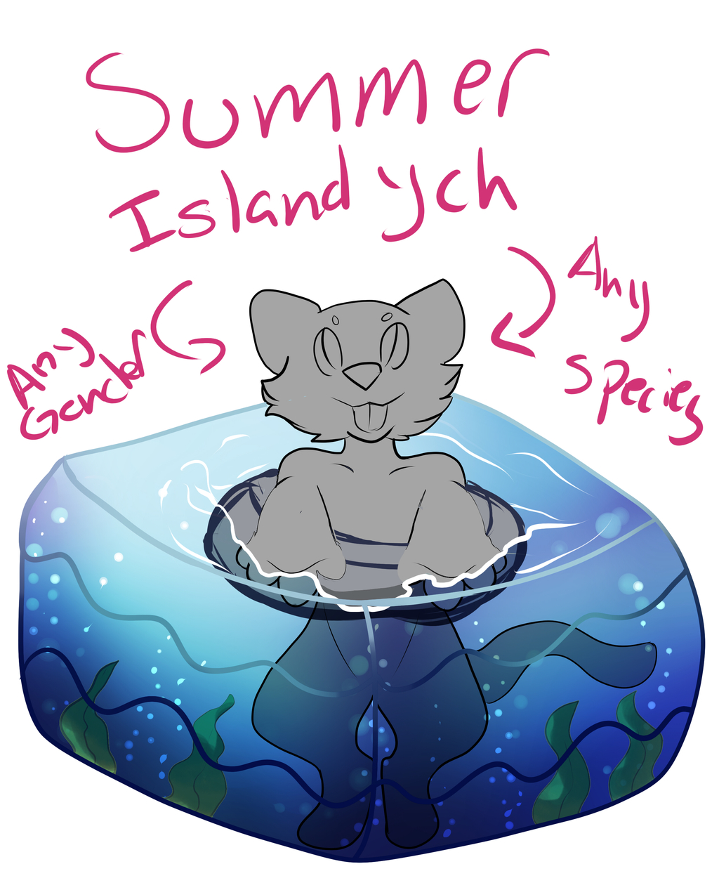 Most recent image: Summer Ych