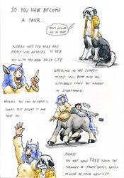 So you've become a taur part 1