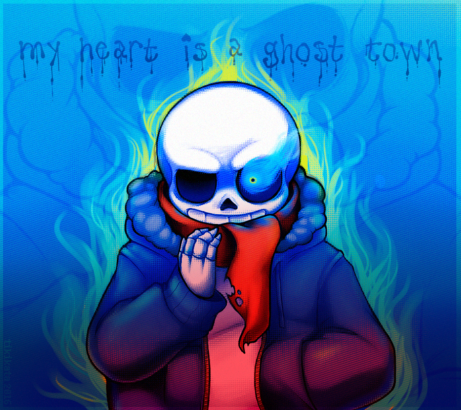 my heart is a ghost town | Undertale