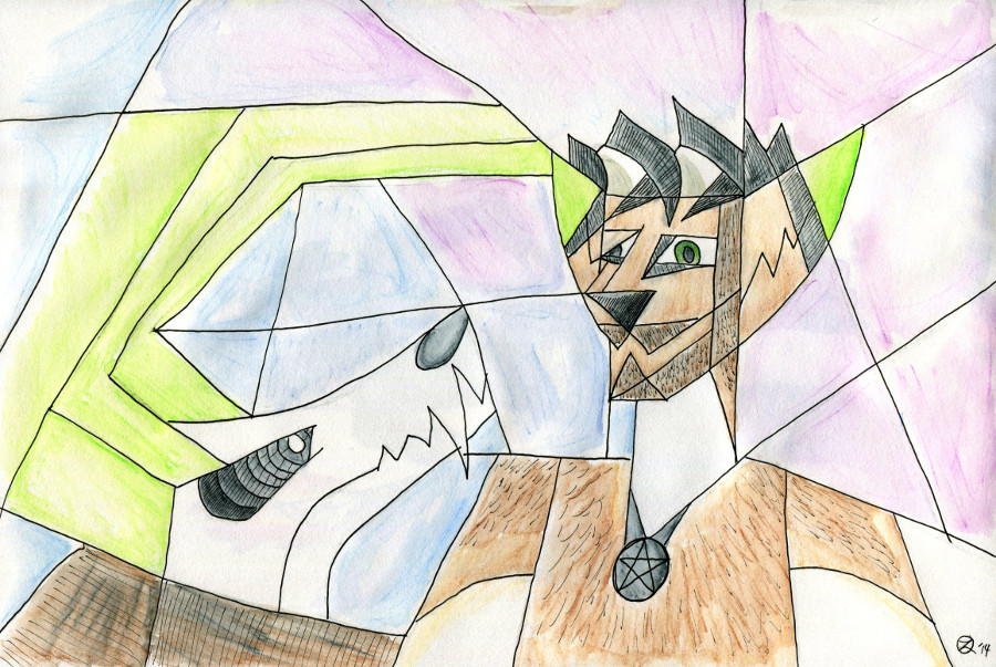 Cubism zelox and psyke