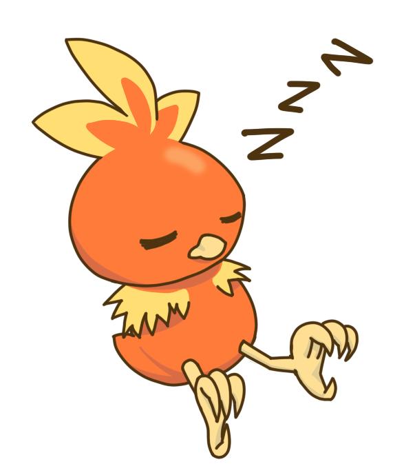 Sleeping Torchic