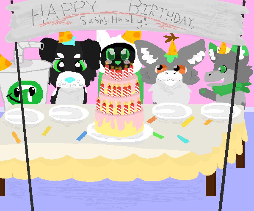 My birthday : D
