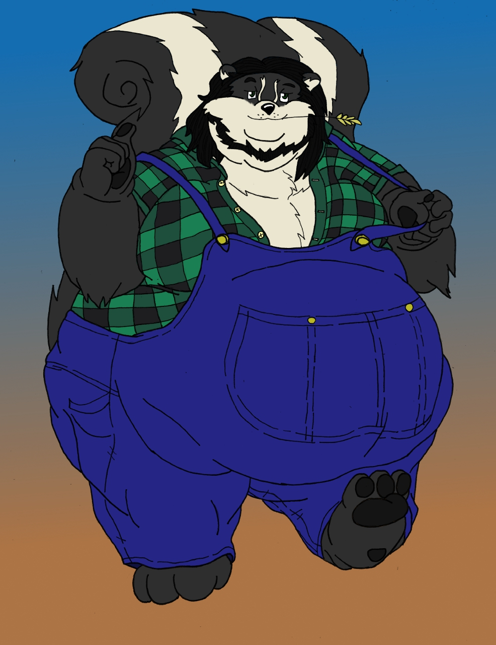 Most recent image: Jus' a Big Ole Hunk of Skunk