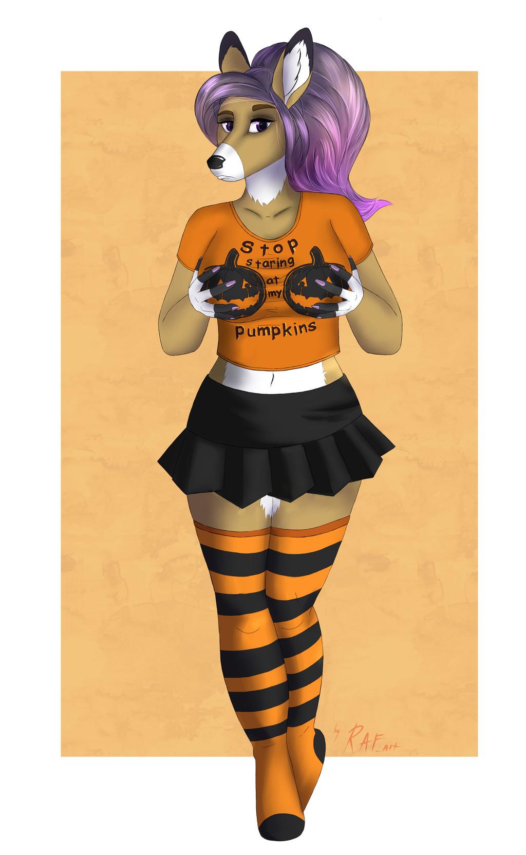 Pumpkin Problems by RAF_art