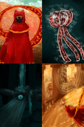 Journey Speedpaintings