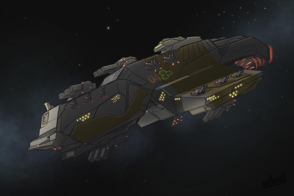 Danger Space ship