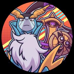 Pokemon Icon Cobalion and Aegislash