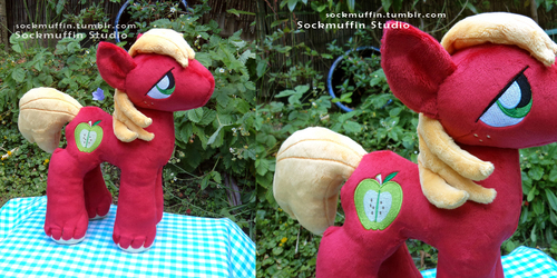 Big Mac plushie (part 1)