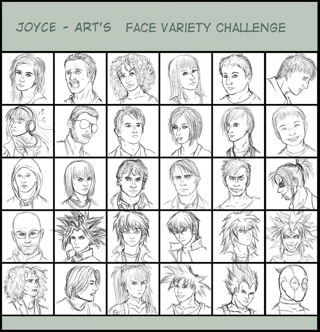 Most recent image: Face Variety Challenge