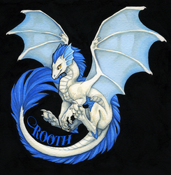 Rooth Watercolor Badge