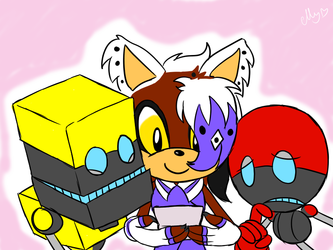 Art Trade feat Orbot and Cubot + Stakes