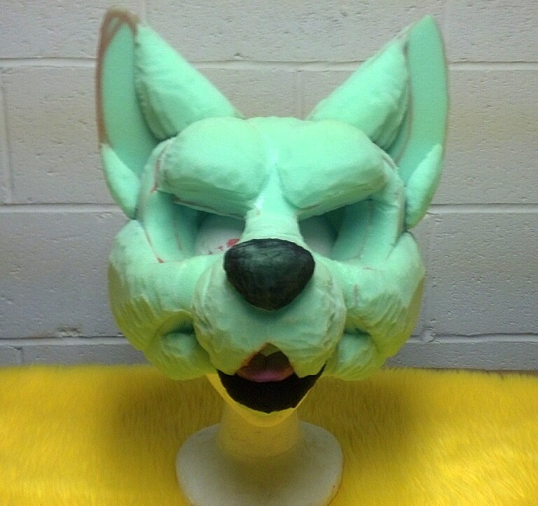 Canine Fursuit foam base for sale!